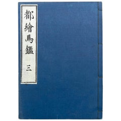 Antique Japanese Ehon Book Meiji Era