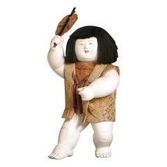 Antique Japanese Gosho-ningyo