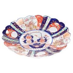 Antique Japanese Porcelain Imari Plate