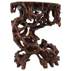 Antique Japanese Root Stand