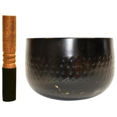 Antique Japanese Singing Bowl