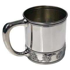 Antique J.E.Caldwell Sterling Silver Cup, circa 1900