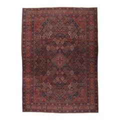 Antique Joshagan Persian Carpet
