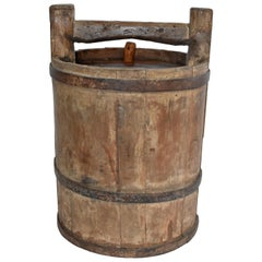 Antique Jujube Wine Barrel
