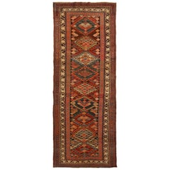 Antique Karabagh Wool Runner