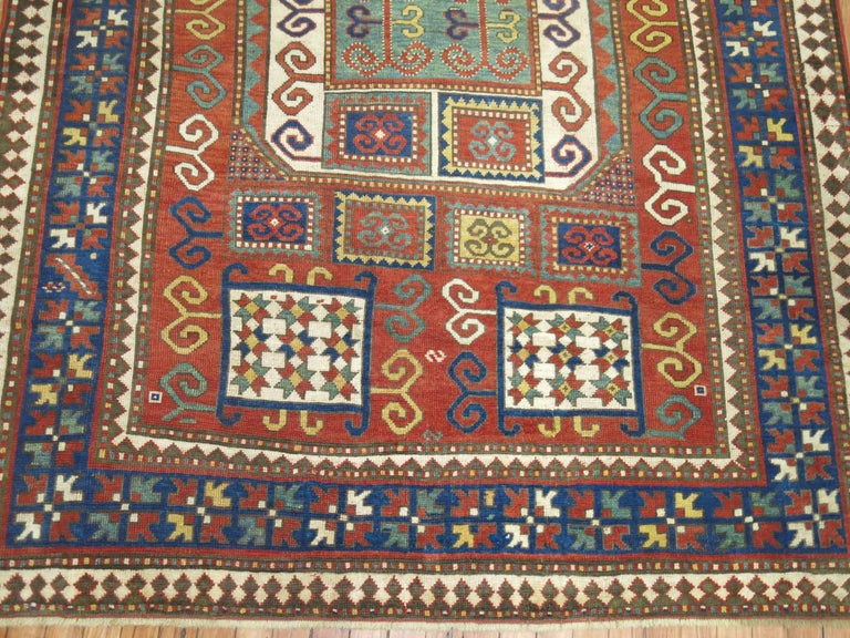 Antique Karachopt Kazak Rug, 'Karachop' For Sale 4