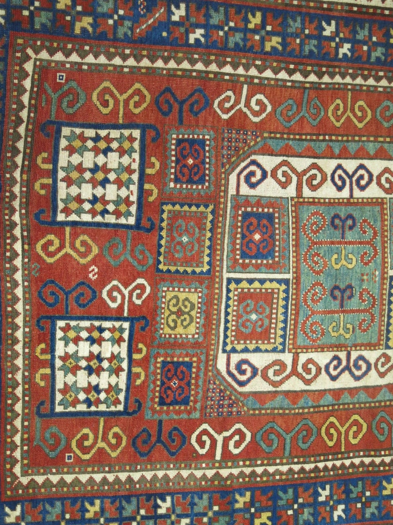 Antique Karachopt Kazak Rug, 'Karachop' For Sale 6