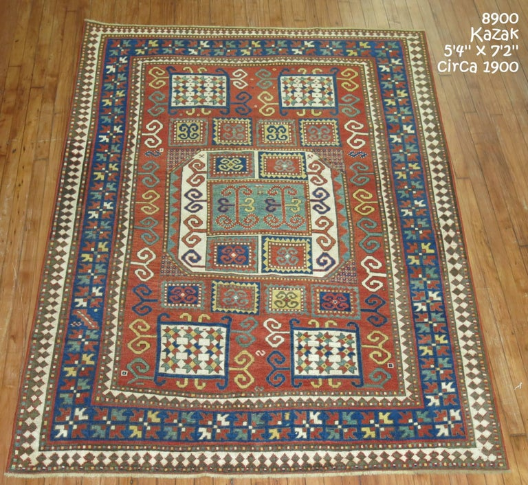 Antique Karachopt Kazak Rug, 'Karachop' For Sale 10