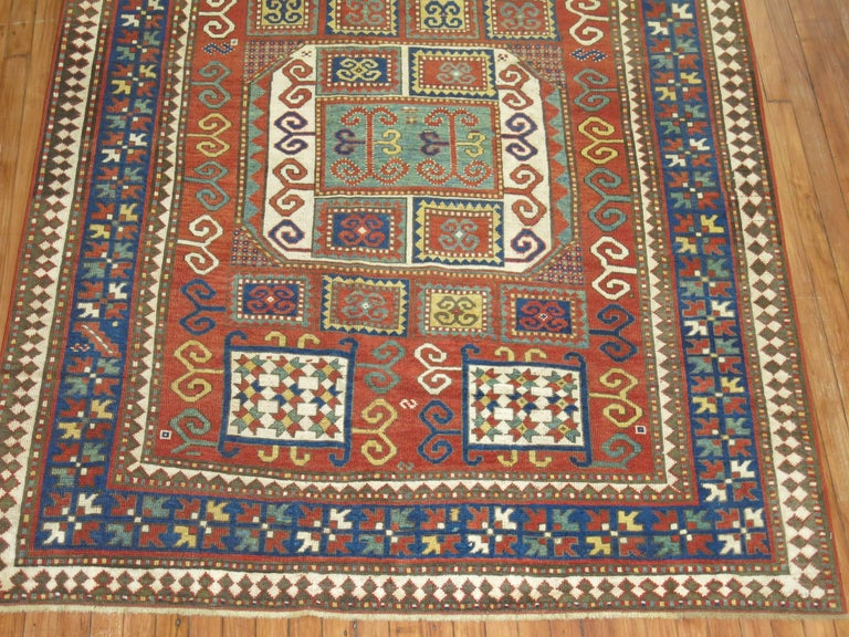 Antique Karachopt Kazak Rug, 'Karachop' For Sale 11