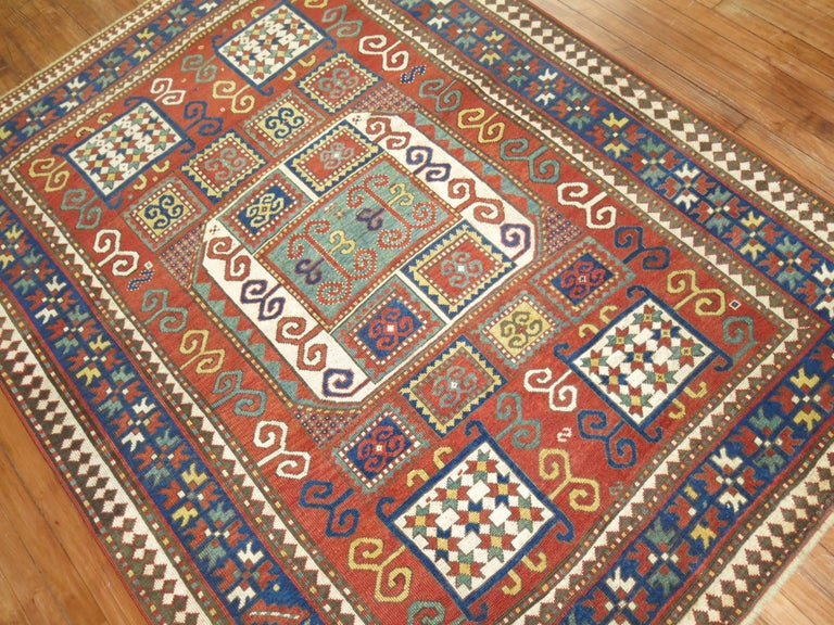 Caucasian Antique Karachopt Kazak Rug, 'Karachop' For Sale