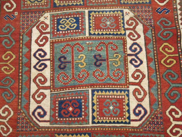 Antique Karachopt Kazak Rug, 'Karachop' In Excellent Condition For Sale In New York, NY