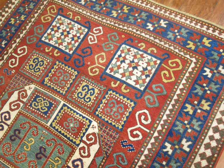 20th Century Antique Karachopt Kazak Rug, 'Karachop' For Sale