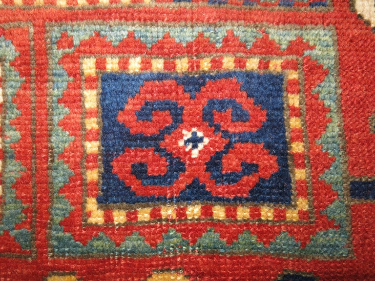 Wool Antique Karachopt Kazak Rug, 'Karachop' For Sale