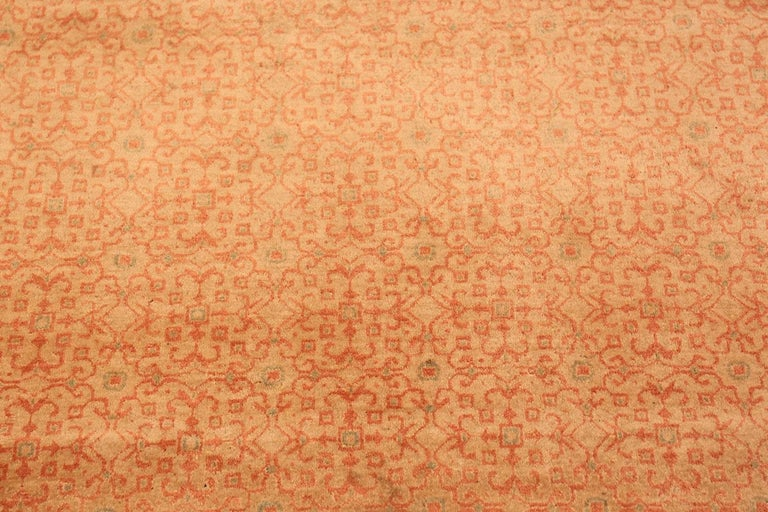 Antique Persian Kashan rug, origin: Persia, circa 1920s.