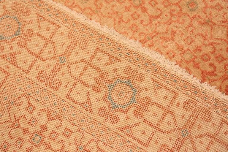 Antique Kashan Persian Rug For Sale 4