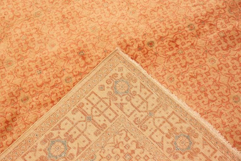 Antique Kashan Persian Rug For Sale 5