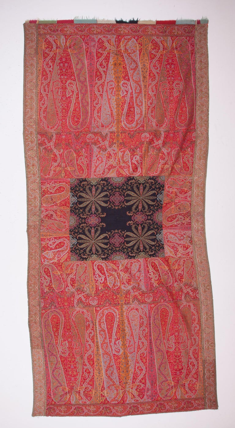 A very good example to Indian shawls in rather good condition.