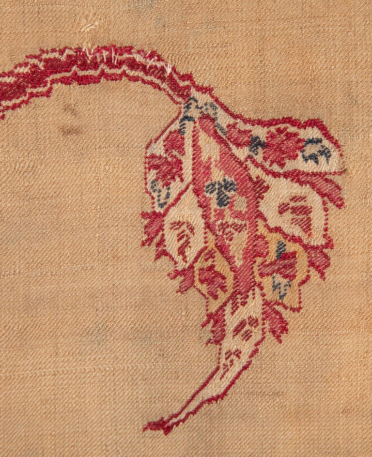 Antique Kashmir Shawl from India, 19th Century For Sale 1