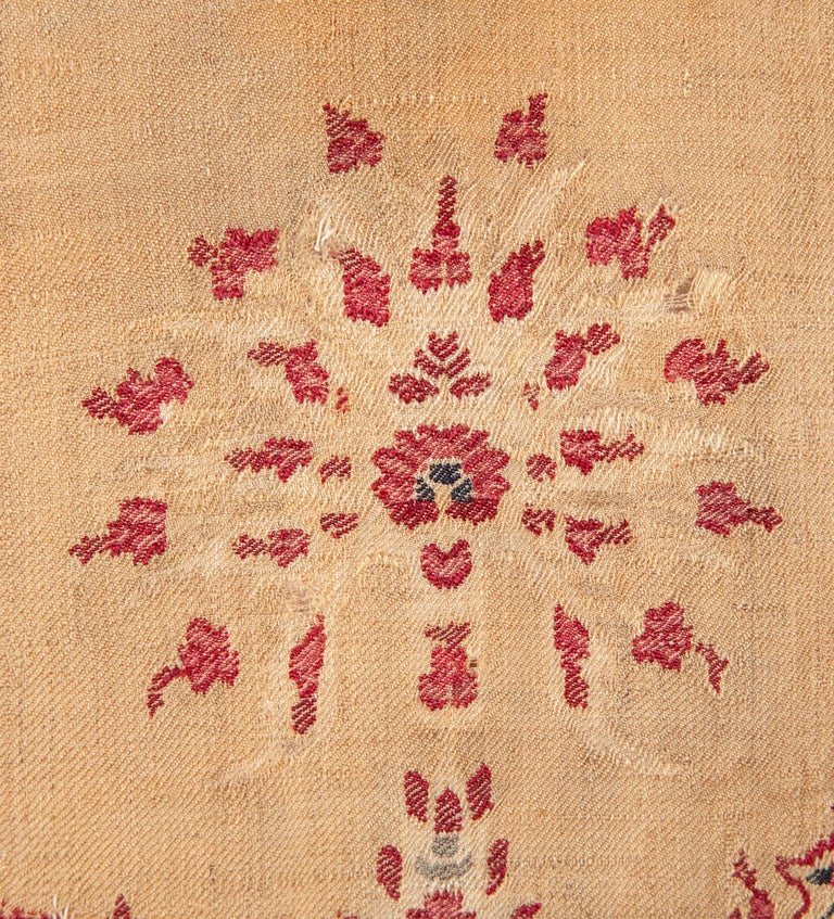 Antique Kashmir Shawl from India, 19th Century For Sale 2