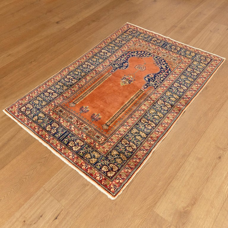 Antique rug from Turkey Kaysery, circa 1950.