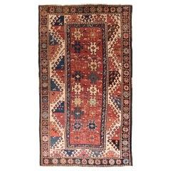 Antique Kazak Borcholo Russian Rug