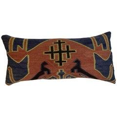 Antique Kazak Rug Pillow