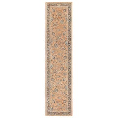 Antique Khorassan Long Runner. Size: 4 ft 2 in x 17 ft 5 in (1.27 m x 5.31 m)