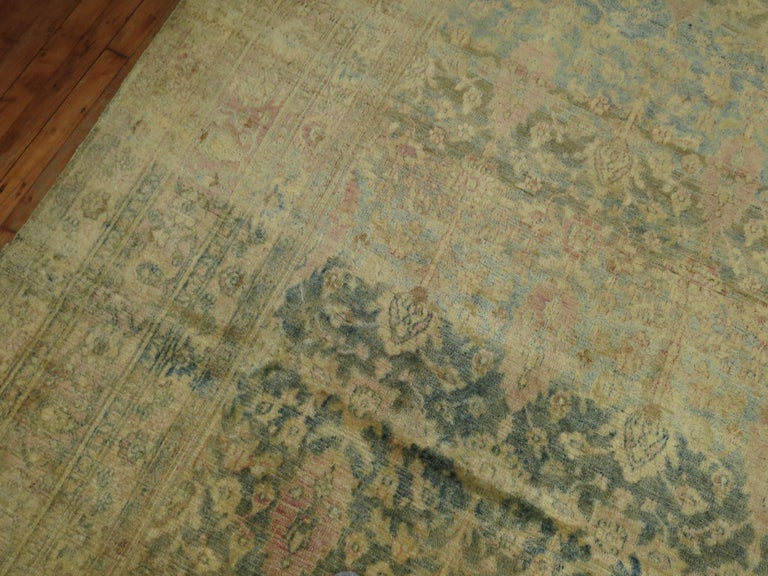Antique Khorassan Rug In Good Condition For Sale In New York, NY