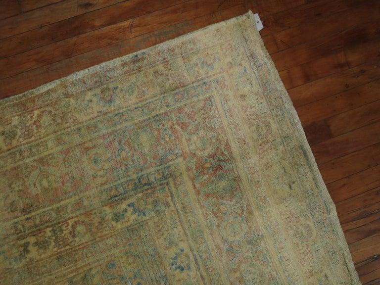 Wool Antique Khorassan Rug For Sale