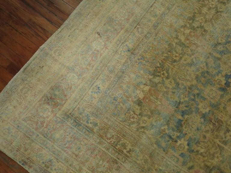 Antique Khorassan Rug For Sale 1