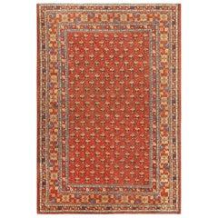 Antique Khotan Carpet from East Turkestan. Size: 8 ft 5 in x 12 ft