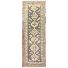 Antique Khotan Runner Carpet. Size: 4 ft x 11 ft (1.22 m x 3.35 m)