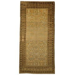 Antique Khotan Samarkand Gallery Size Rug, circa 1900