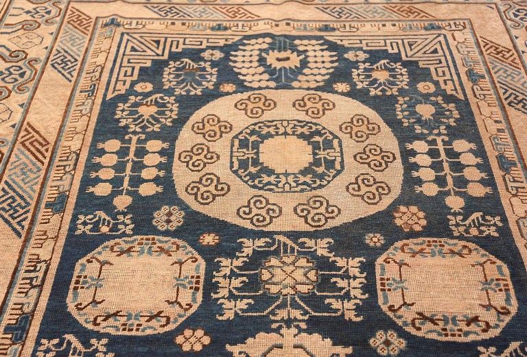 Antique Khotan Samarkand Oriental Rug or Carpet For Sale 4
