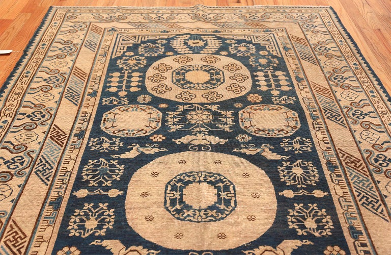 Antique Khotan Samarkand Oriental Rug or Carpet For Sale 5