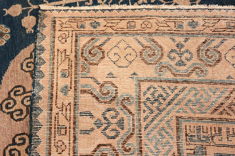 Antique Khotan Samarkand Oriental Rug or Carpet For Sale 7