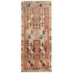Antique Kilim Adana, Ethnic Design