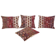 Antique Kilim Cuschion Covers Fashioned from Late 19th Century Turkish Kilim