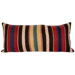 Antique Kilim Pillow Case Made from a 19th Century South Caucasian Kilim