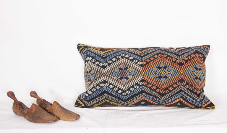 Antique Kilim Pillow Cases Made from a Late 19th Century Anatolian Cicim Kilim For Sale 4