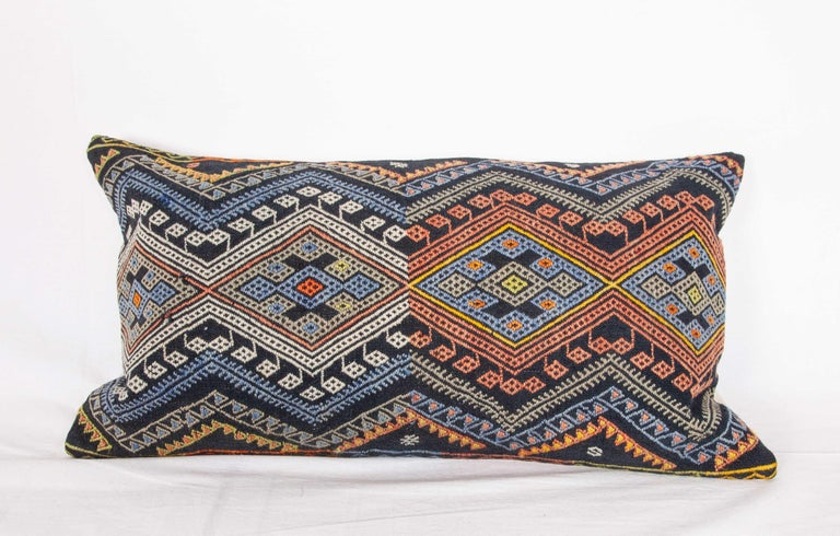 Antique Kilim Pillow Cases Made from a Late 19th Century Anatolian Cicim Kilim For Sale 5