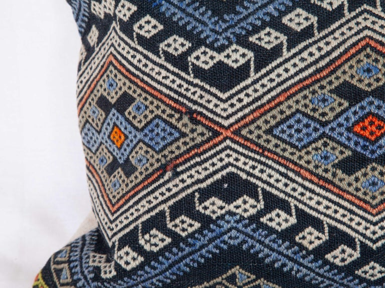 Antique Kilim Pillow Cases Made from a Late 19th Century Anatolian Cicim Kilim For Sale 6