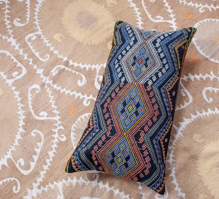 Antique Kilim Pillow Cases Made from a Late 19th Century Anatolian Cicim Kilim For Sale 7