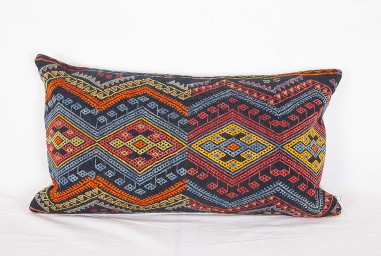 Antique Kilim Pillow Cases Made from a Late 19th Century Anatolian Cicim Kilim For Sale 8