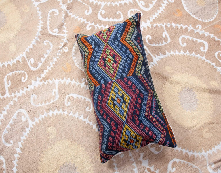 Antique Kilim Pillow Cases Made from a Late 19th Century Anatolian Cicim Kilim For Sale 11