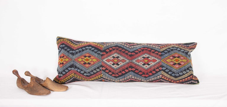 Antique Kilim Pillow Cases Made from a Late 19th Century Anatolian Cicim Kilim For Sale 12