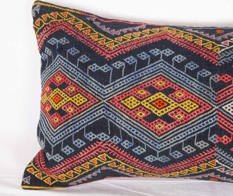 Antique Kilim Pillow Cases Made from a Late 19th Century Anatolian Cicim Kilim For Sale 14