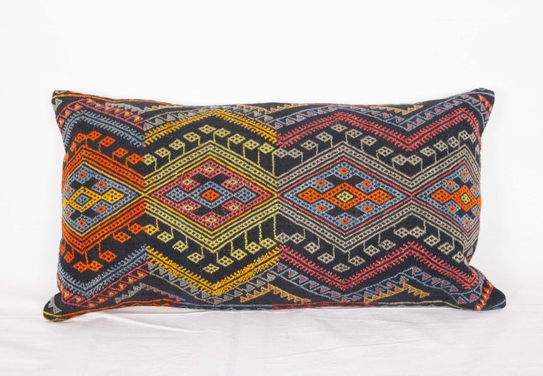 Turkish Antique Kilim Pillow Cases Made from a Late 19th Century Anatolian Cicim Kilim For Sale
