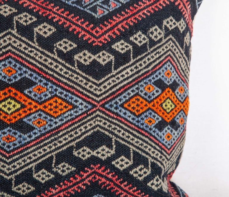 Wool Antique Kilim Pillow Cases Made from a Late 19th Century Anatolian Cicim Kilim For Sale