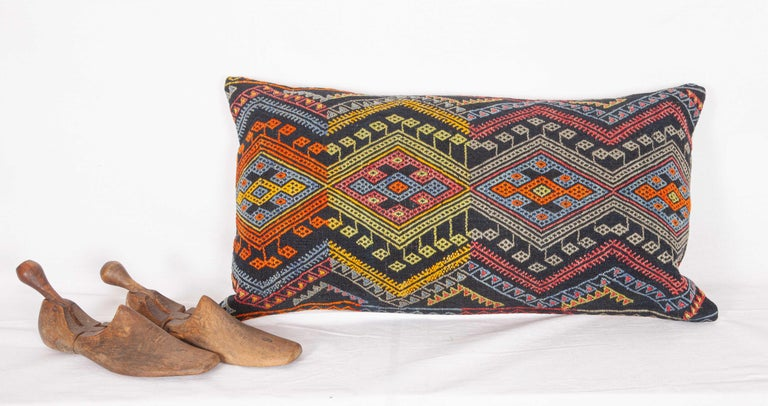 Antique Kilim Pillow Cases Made from a Late 19th Century Anatolian Cicim Kilim For Sale 2